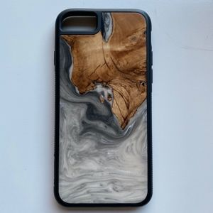"""iPhone 6s Wood & Resin Phone Case """"Carved"""" Brand"""
